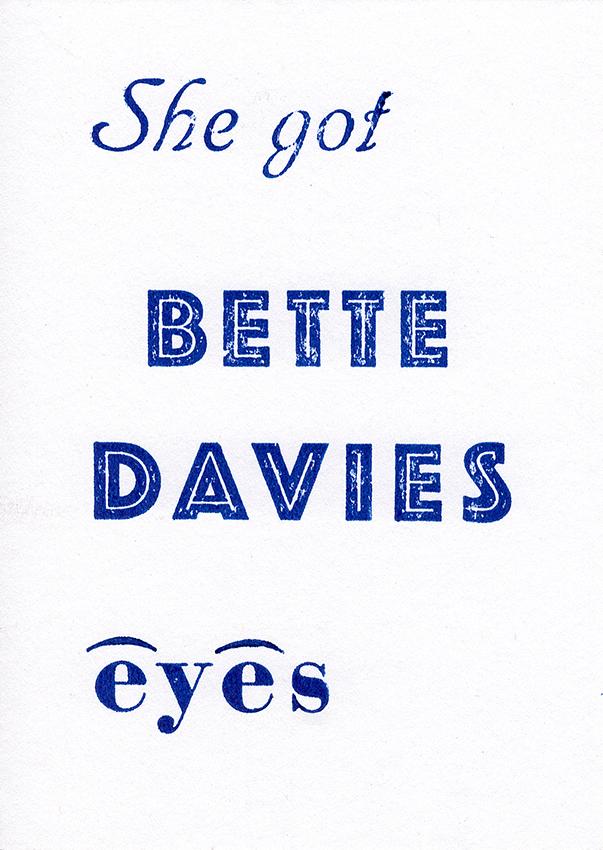 Link zu Projekt: Bette Davies